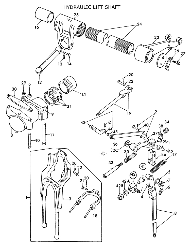 Ford Naa Transmission Diagram